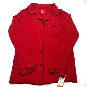 Collared Pajama Top Size XS - O'Malley (EE87